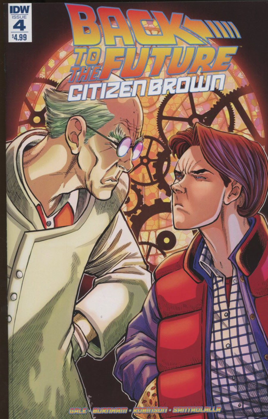Back To The Future Citizen Brown #4 Cover A Regular Alan Robinson Cover