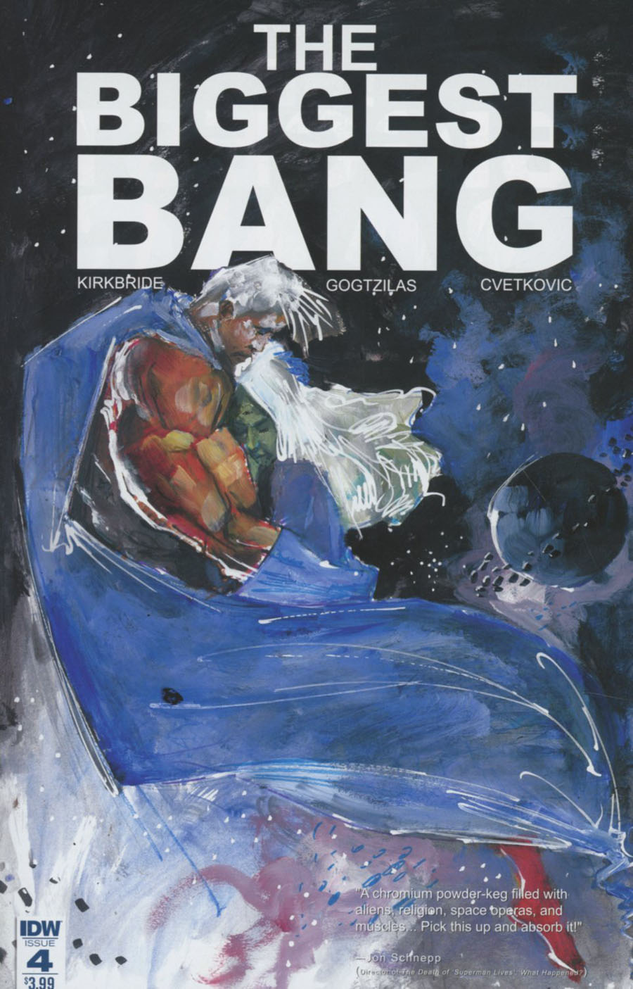 Biggest Bang #4 Cover A Regular Vassilis Gogtzilas Cover