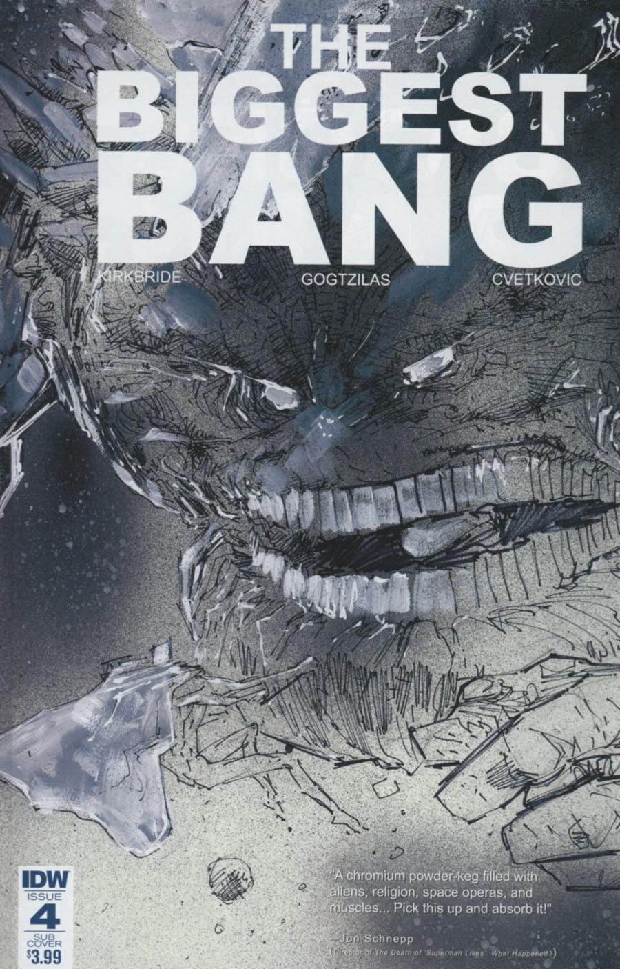 Biggest Bang #4 Cover B Variant Vassilis Gogtzilas Subscription Cover