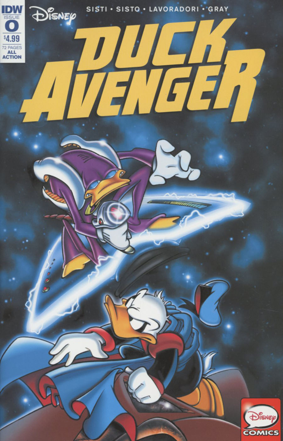 Duck Avenger #0 Cover A Regular Marco Ghiglione Cover