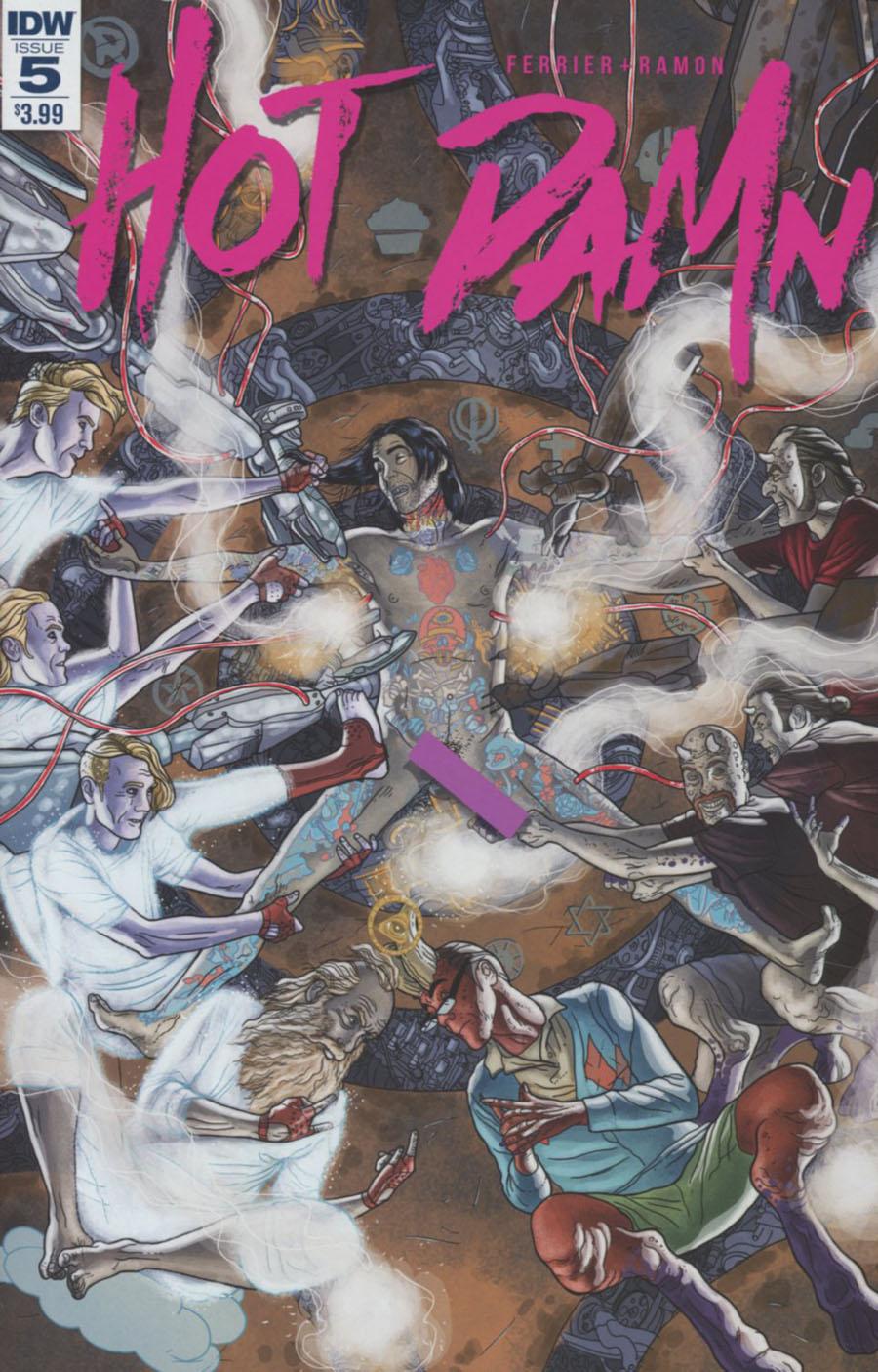 Hot Damn #5 Cover A Regular Valentin Ramon Cover