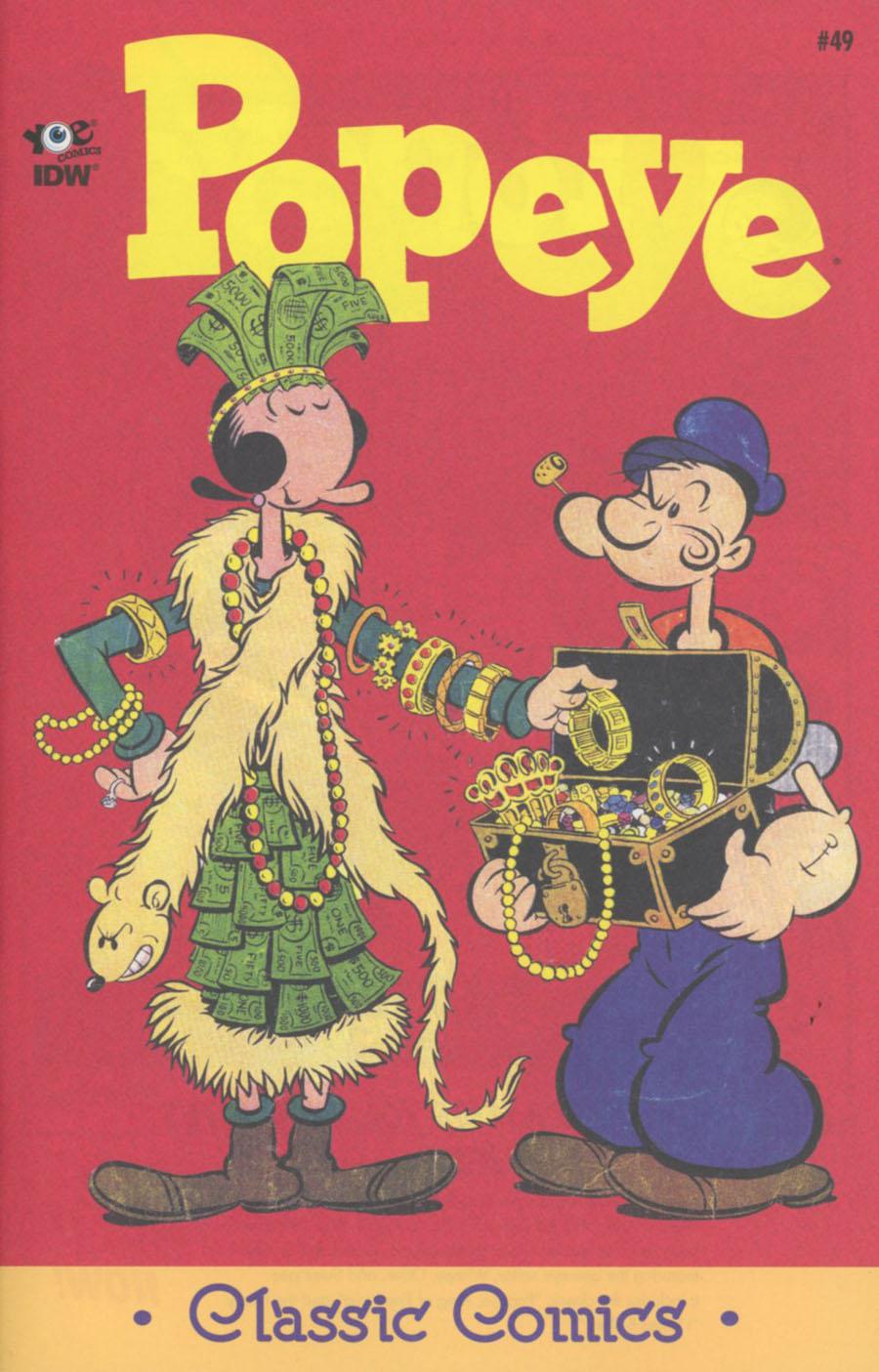 Classic Popeye #49 Cover A Regular Bud Sagendorf Cover