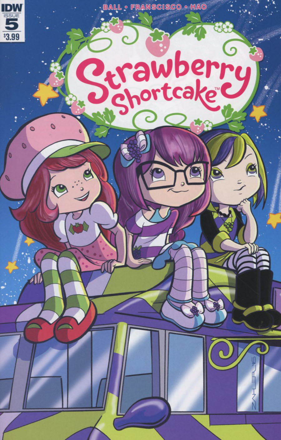 Strawberry Shortcake Vol 3 #5 Cover A Regular Thom Zahler Cover