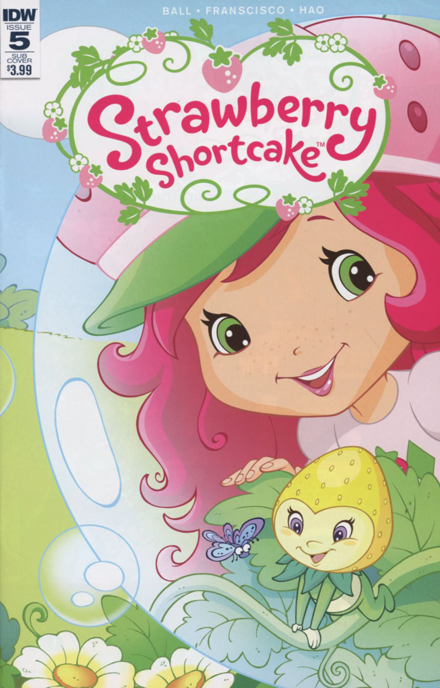 Strawberry Shortcake Vol 3 #5 Cover B Variant Tine Francisco Subscription Cover