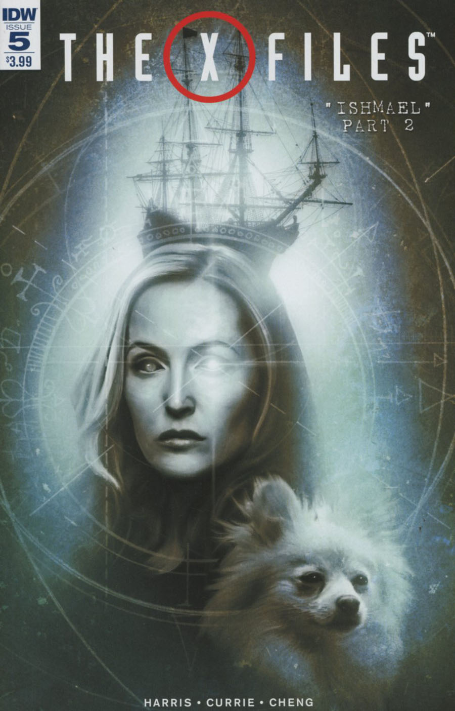 X-Files Vol 3 #5 Cover A Regular Menton3 Cover