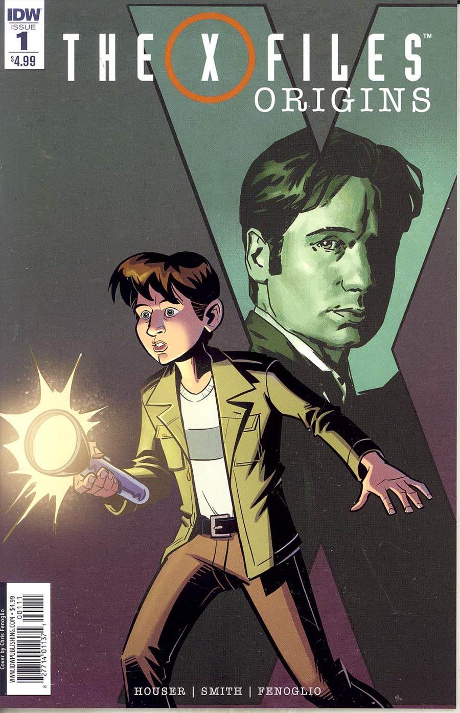X-Files Origins #1 Cover A Regular Chris Fenoglio & Corin Howell Cover