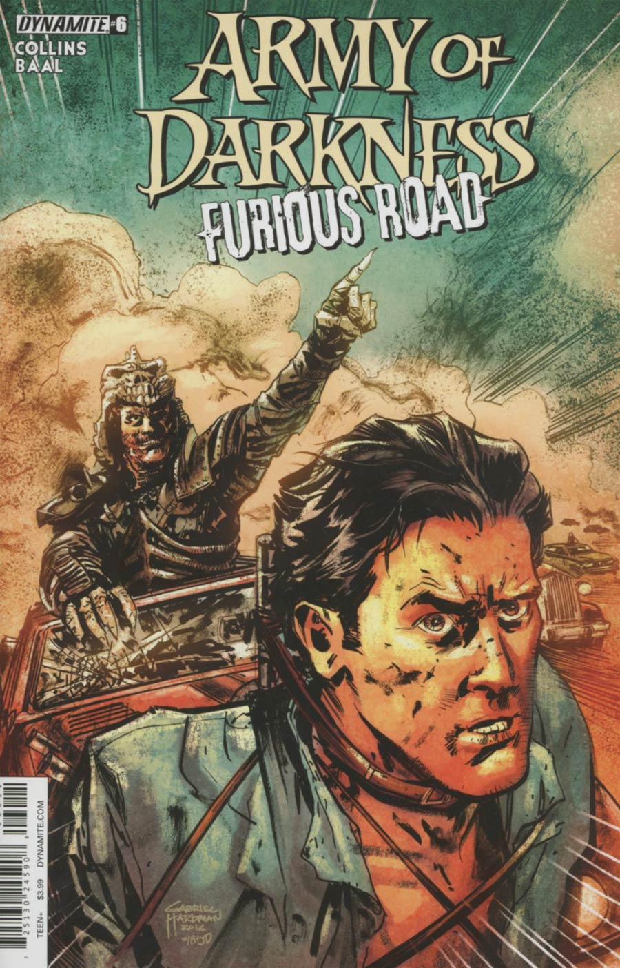 Army Of Darkness Furious Road #6 Cover A Regular Gabriel Hardman Cover