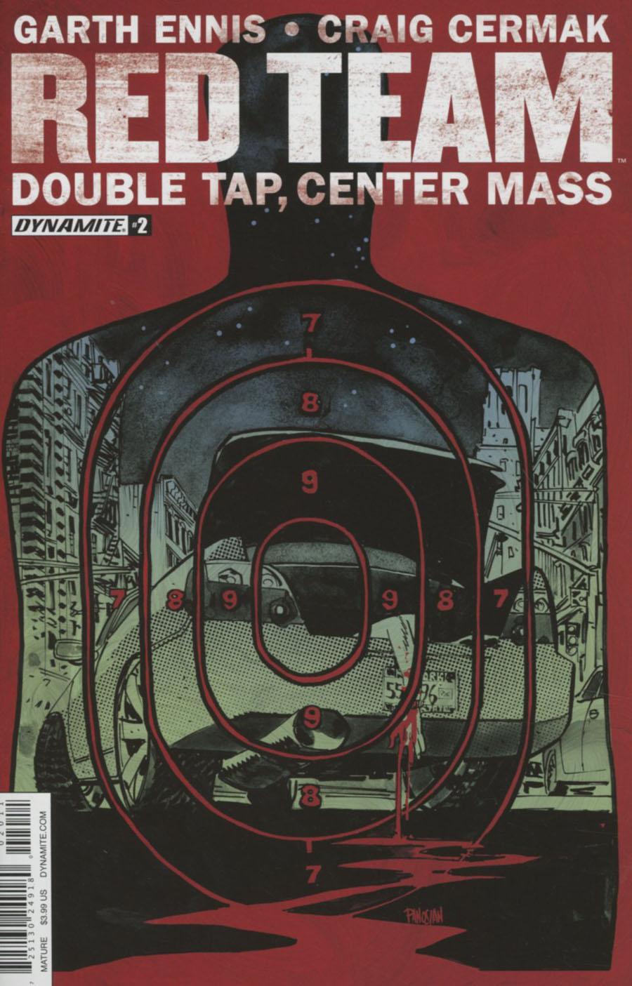 Garth Ennis Red Team Double Tap Center Mass #2
