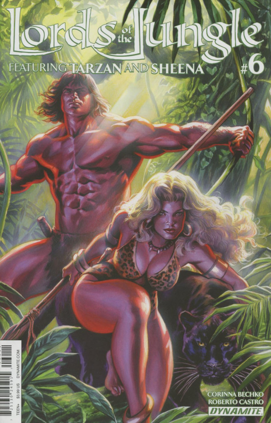 Lords Of The Jungle #6 Cover A Regular Felipe Massafera Cover