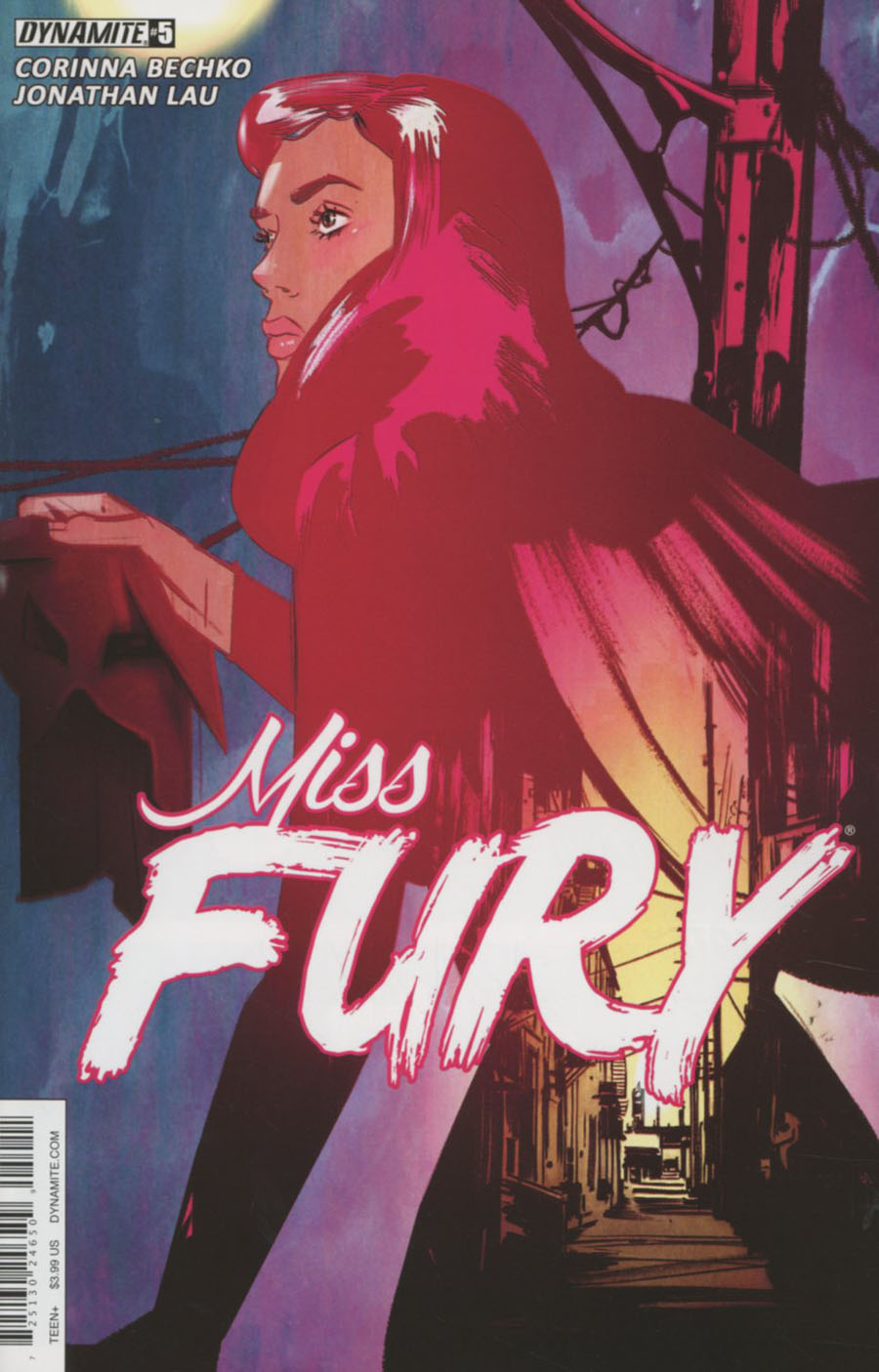 Miss Fury Vol 3 #5 Cover A Regular Tula Lotay Cover