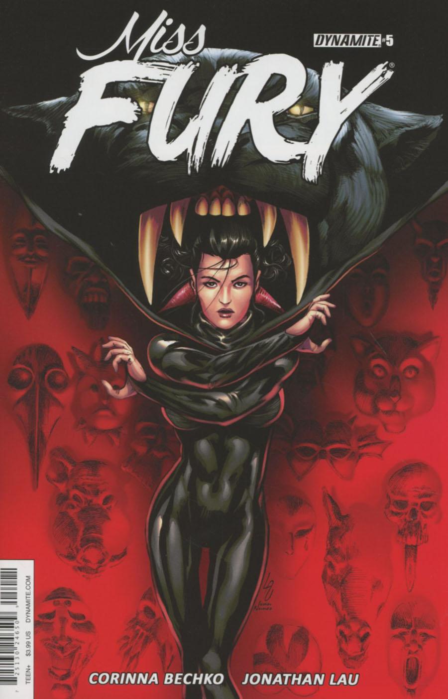 Miss Fury Vol 3 #5 Cover B Variant Jonathan Lau Cover