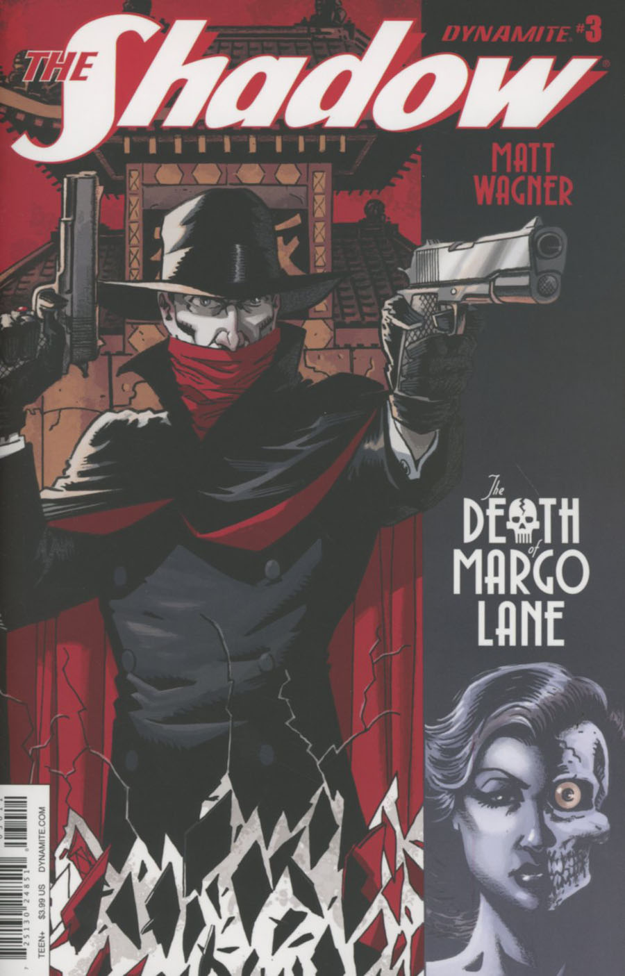 Shadow Death Of Margo Lane #3 Cover A Regular Matt Wagner Cover