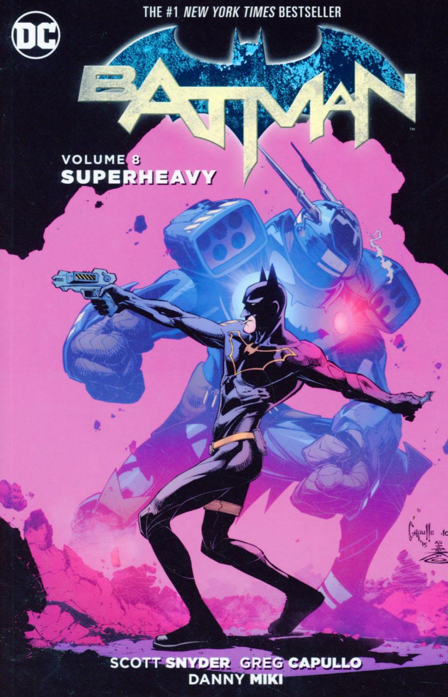 Batman (New 52) Vol 8 Superheavy TP