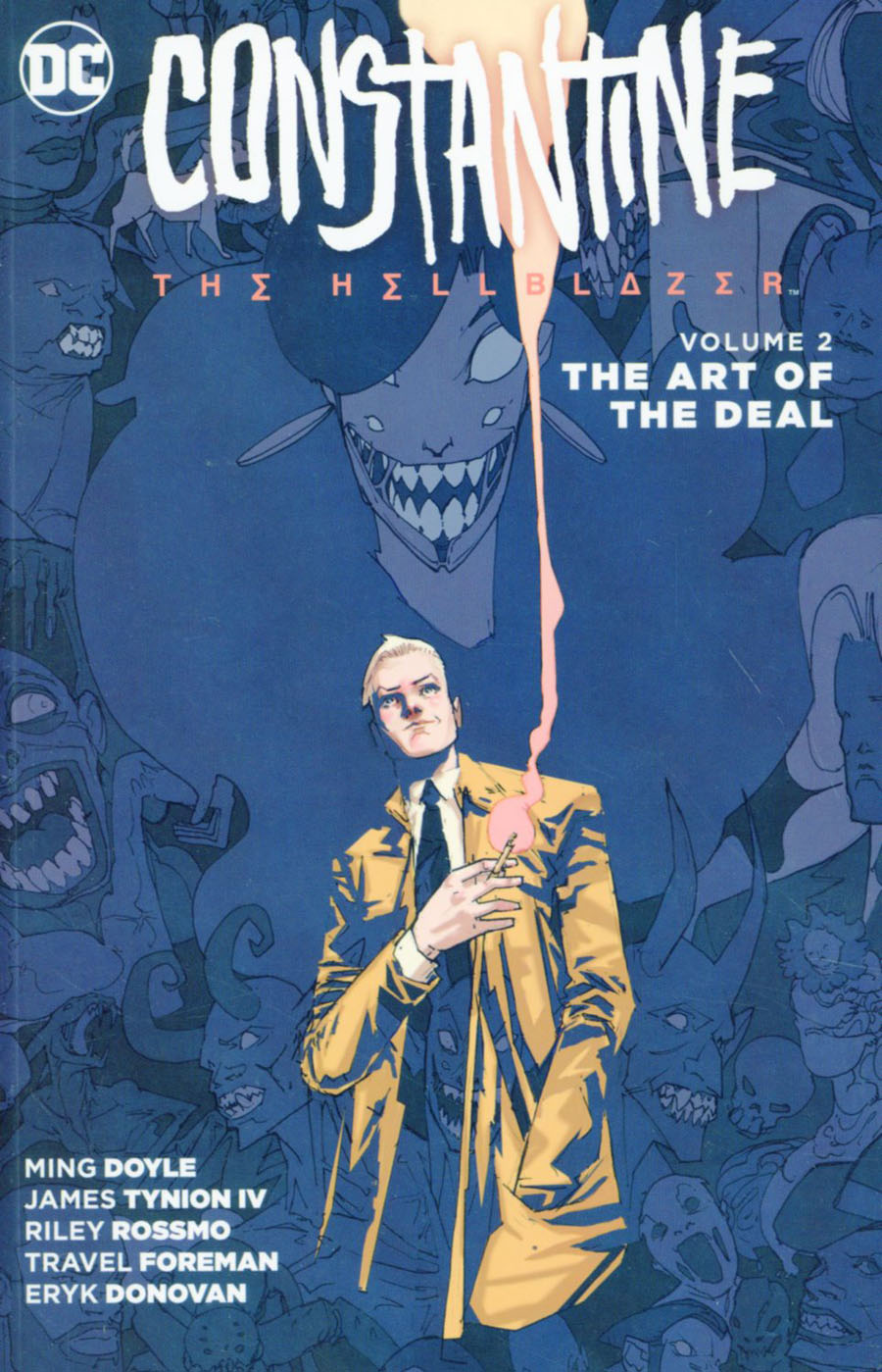 Constantine The Hellblazer (New 52) Vol 2 The Art Of The Deal TP