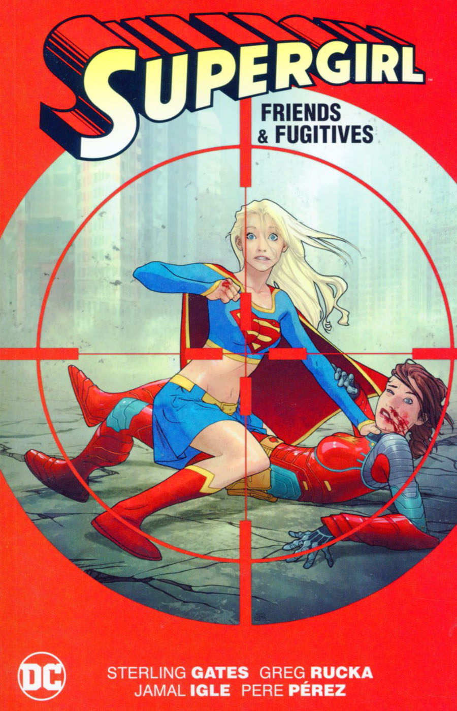Supergirl Friends And Fugitives TP New Edition