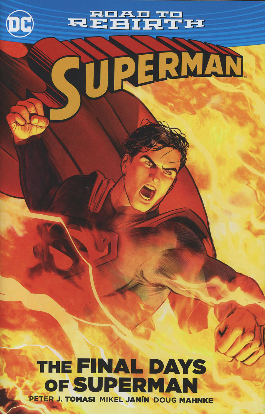 Superman The Final Days Of Superman HC (New 52)