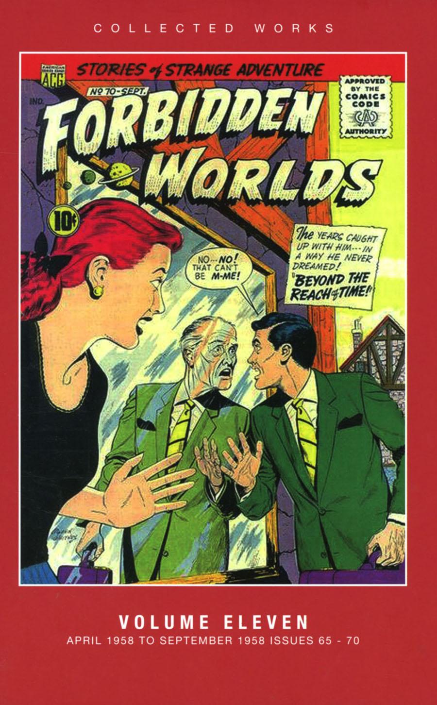 ACG Collected Works Forbidden Worlds Vol 11 HC