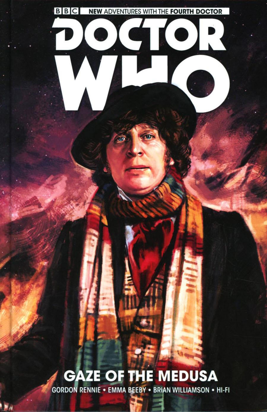 Doctor Who 4th Doctor Vol 1 Gaze Of The Medusa HC