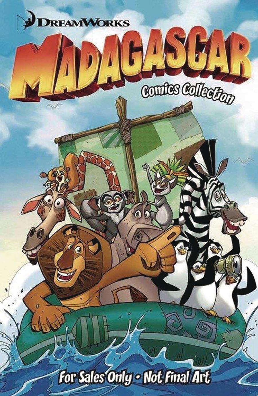 Dreamworks Madagascar Escape Plans TP