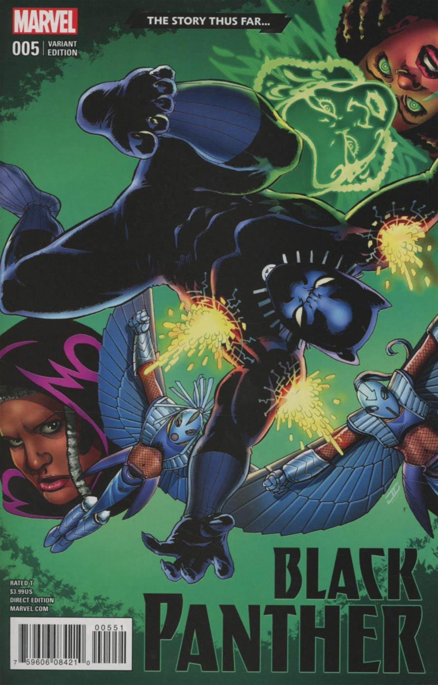 Black Panther Vol 6 #5 Cover E Variant John Cassaday Story Thus Far Cover