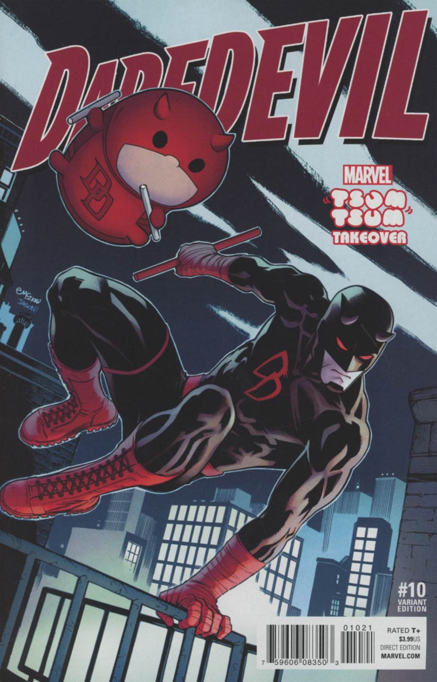 Daredevil Vol 5 #10 Cover B Variant Ed McGuinness Marvel Tsum Tsum Takeover Cover
