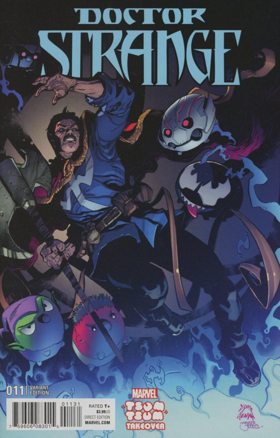 Doctor Strange Vol 4 #11 Cover B Variant Ryan Stegman Marvel Tsum Tsum Takeover Cover