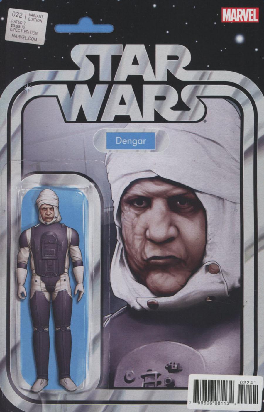Star Wars Vol 4 #22 Cover B Variant John Tyler Christopher Action Figure Cover
