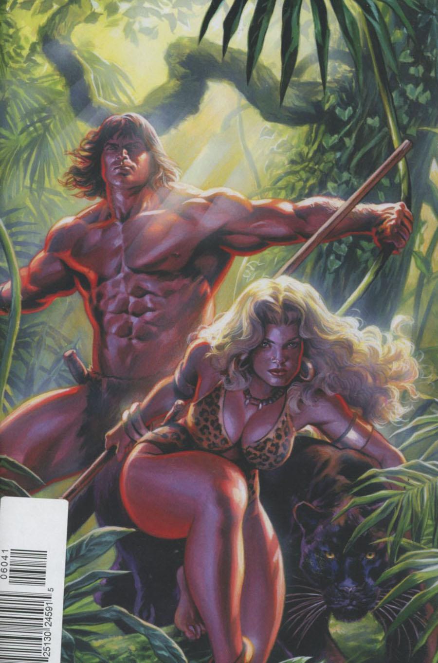Lords Of The Jungle #6 Cover D Rare Felipe Massafera Virgin Art Cover