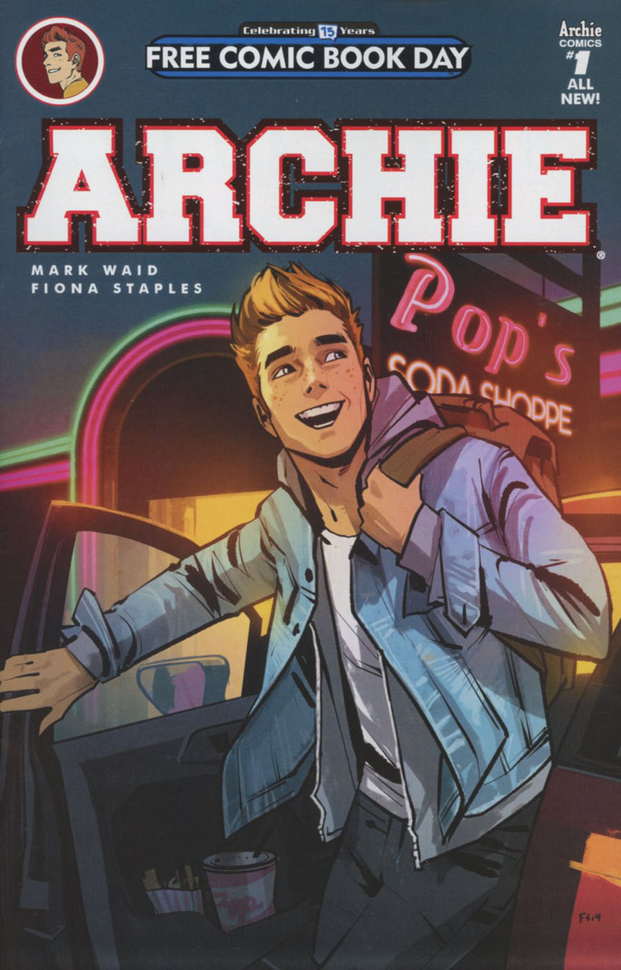 Archie Vol 2 #1 Cover Z-N FCBD 2016