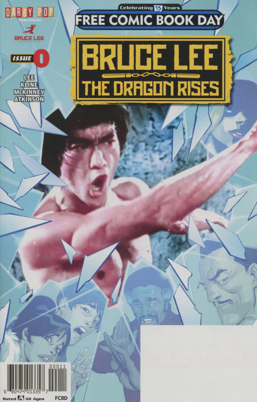 Bruce Lee Dragon Rises #0 FCBD 2016