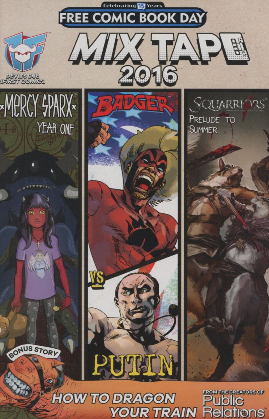 Devils Due 1First Comics Mixtape FCBD 2016