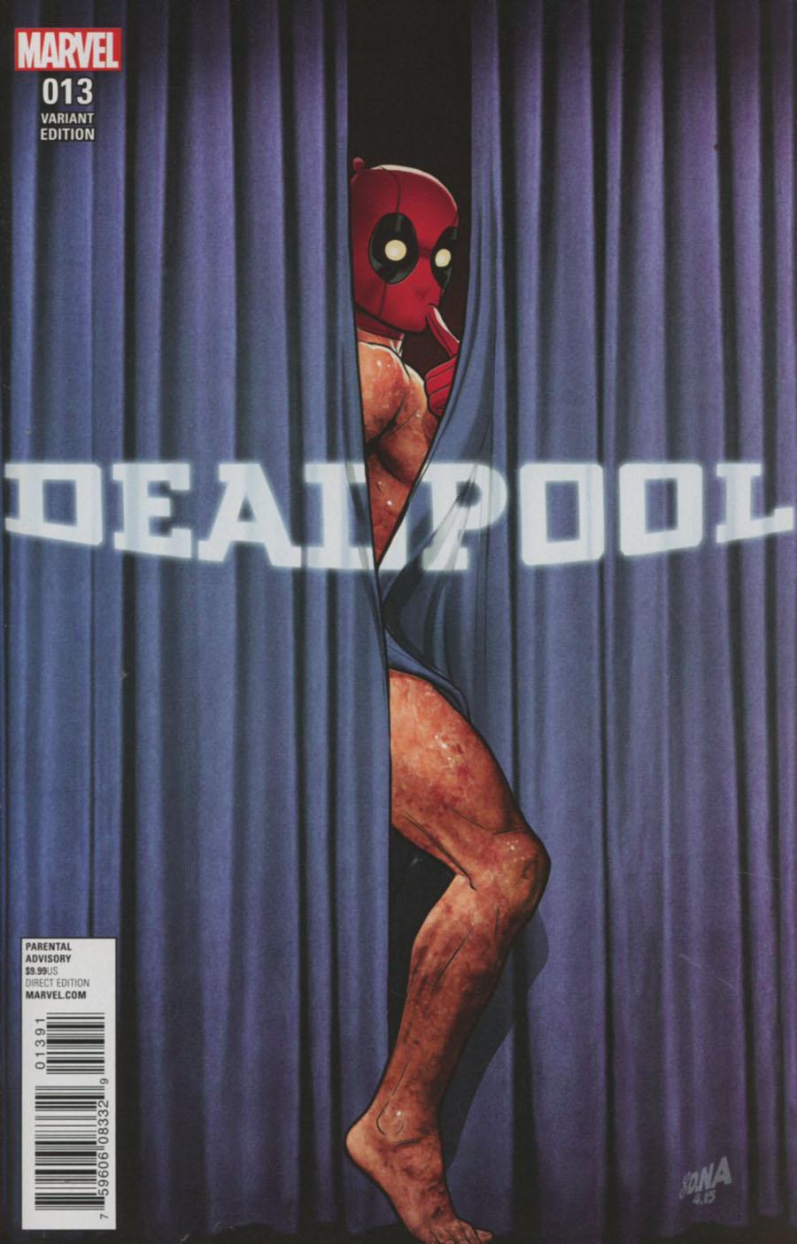 Deadpool Vol 5 #13 Cover H Incentive David Nakayama Rebirth Variant Cover