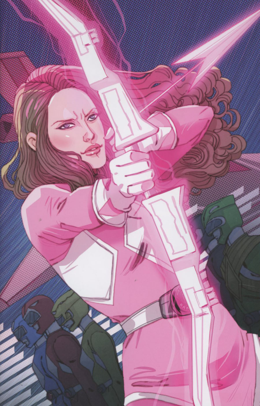Mighty Morphin Power Rangers Pink #1 Cover C Incentive Marguerite Sauvage Virgin Variant Cover
