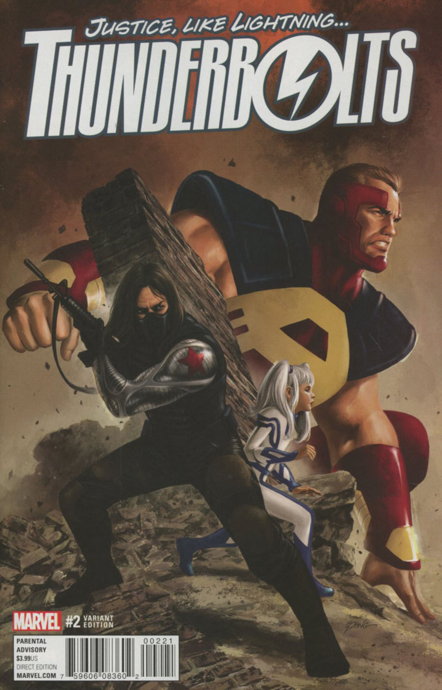 Thunderbolts Vol 3 #2 Cover B Incentive Steve Epting Variant Cover