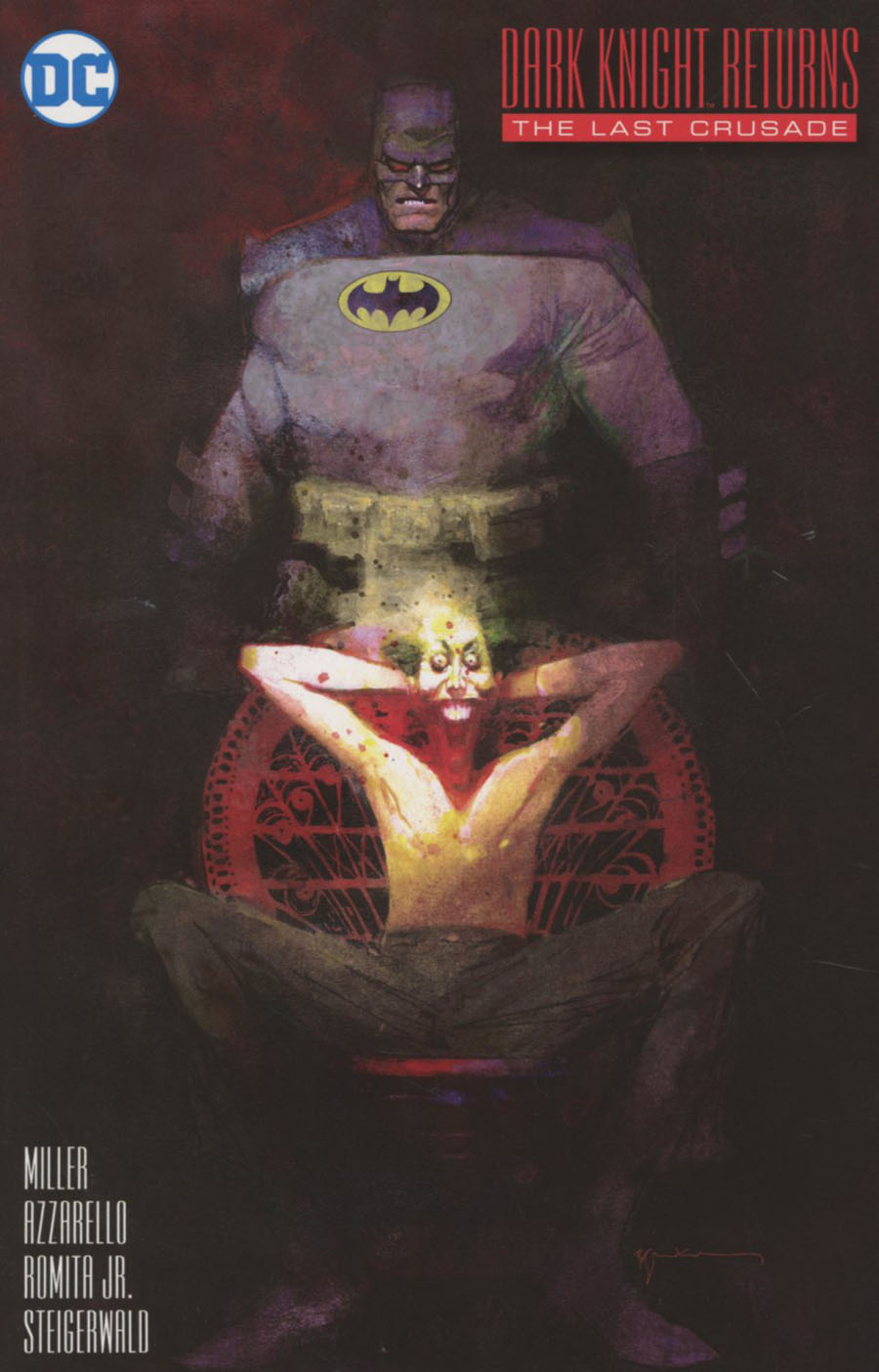 Dark Knight Returns The Last Crusade #1 Cover C Incentive Bill Sienkiewicz Variant Cover
