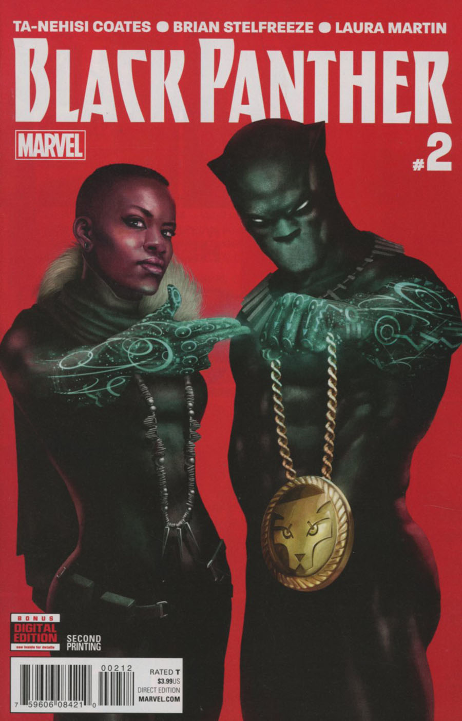 Black Panther Vol 6 #2 Cover E 2nd Ptg Rahzzah Run The Jewels Variant Cover