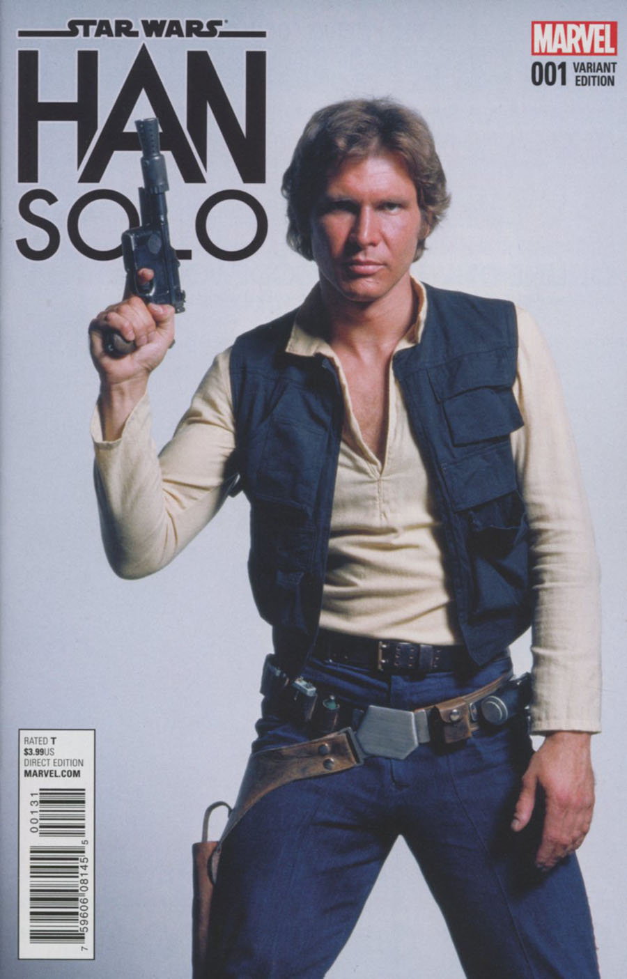 Star Wars Han Solo #1 Cover E Incentive Movie Variant Cover