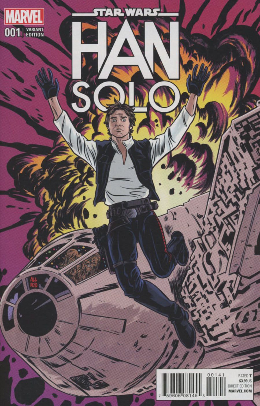 Star Wars Han Solo #1 Cover F Incentive Variant Cover