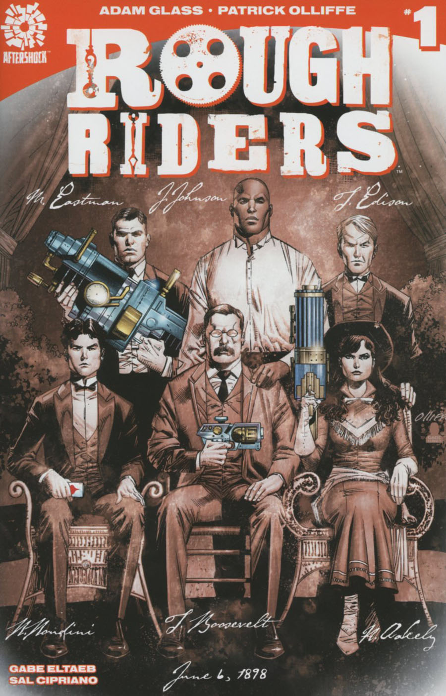 Rough Riders #1 Cover C 2nd Ptg Pat Oliffe Variant Cover