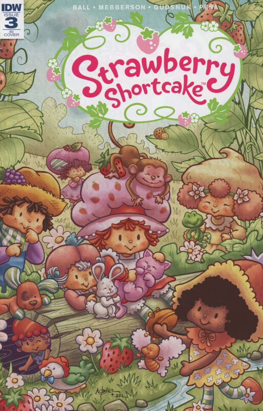 Strawberry Shortcake Vol 3 #3 Cover D Incentive Nico Pena Variant Cover