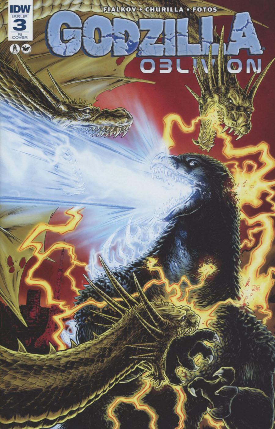 Godzilla Oblivion #3 Cover C Incentive Tadd Galusha Variant Cover
