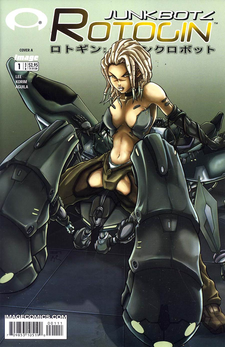 Rotogin Junkbotz #1 Cover A Lee
