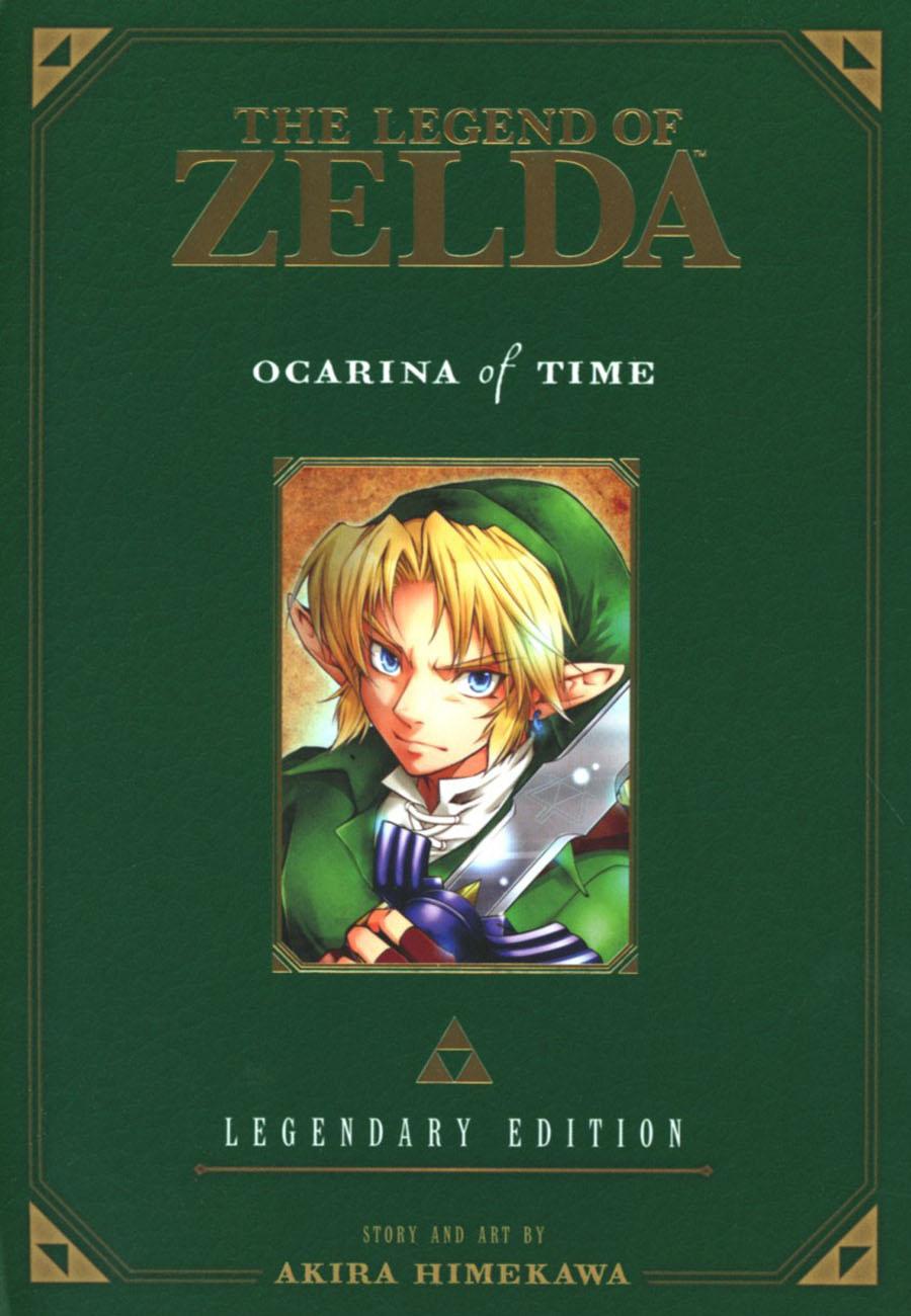 Legend Of Zelda Legendary Edition Vol 1 Ocarina Of Time Parts 1 & 2 GN