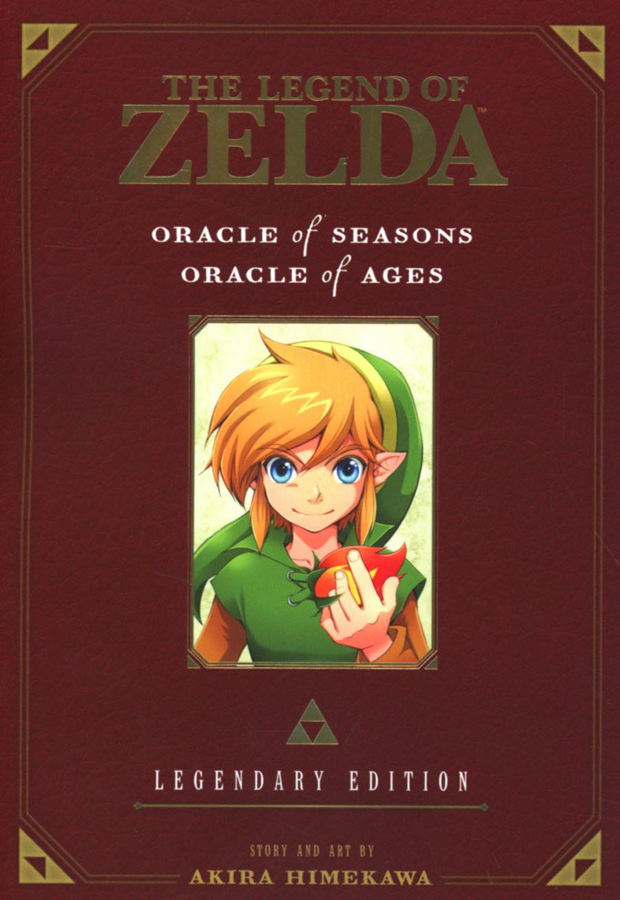 Legend Of Zelda Legendary Edition Vol 2 Oracle Of Seasons & Oracle Of Ages GN