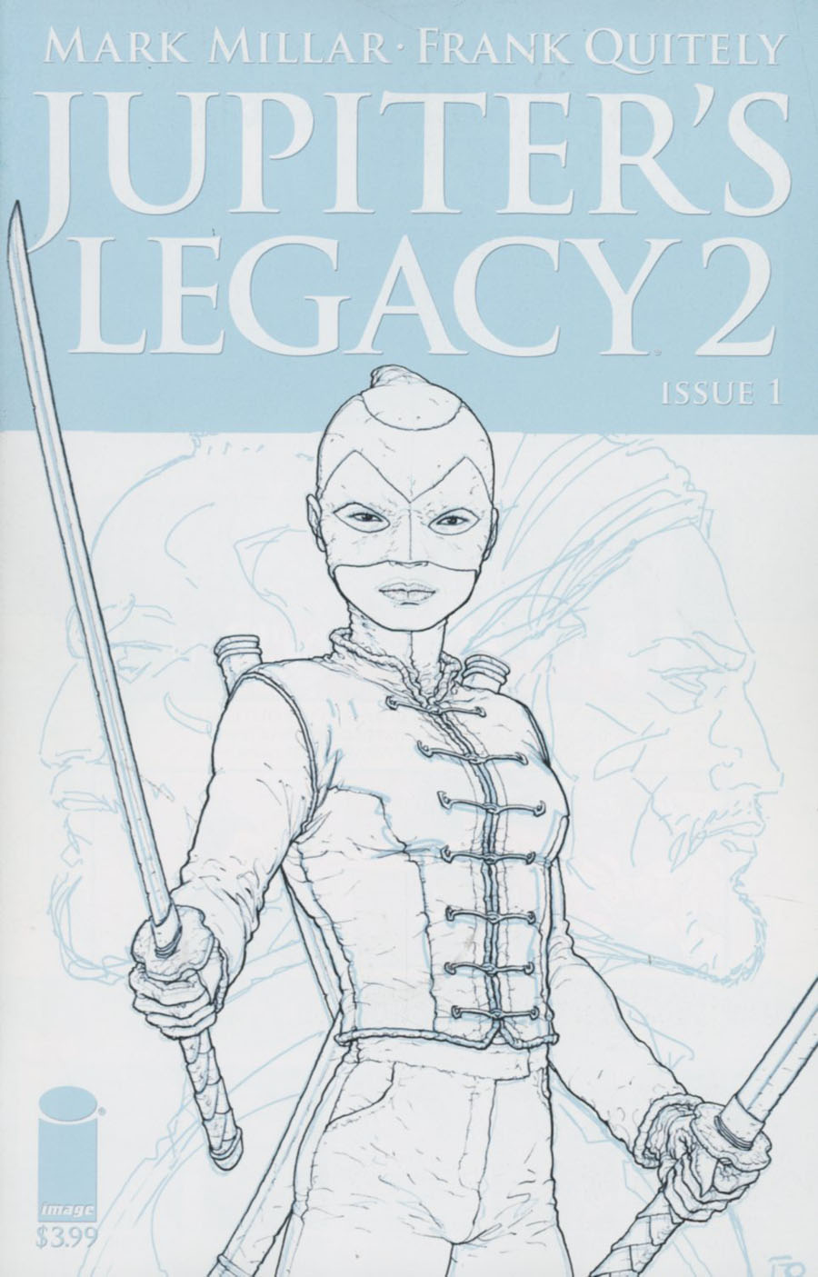 Jupiters Legacy Vol 2 #1 Cover E Incentive Frank Quitely Sketch Cover