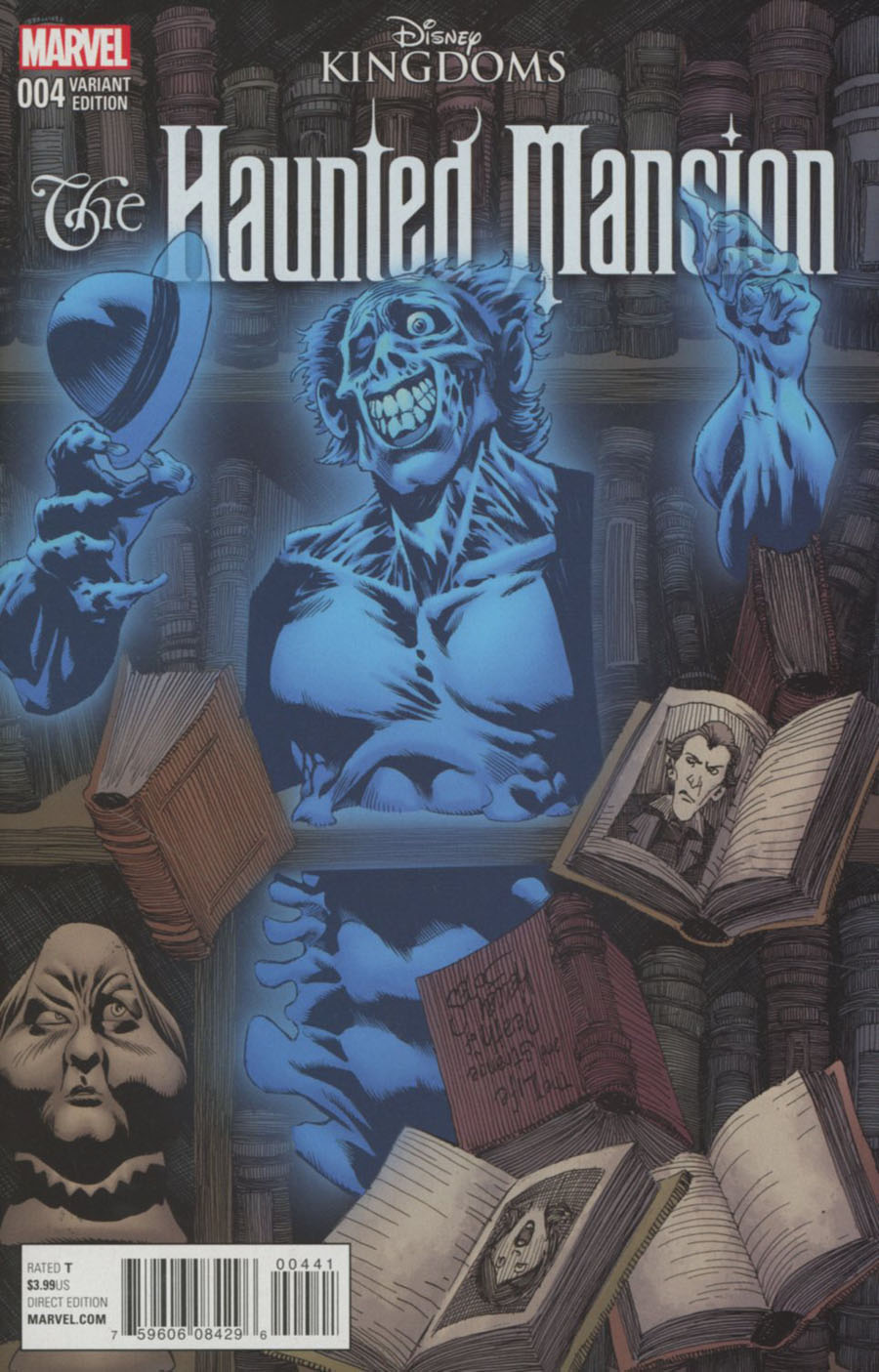 Disney Kingdoms Haunted Mansion #4 Cover C Incentive Kelley Jones Variant Cover