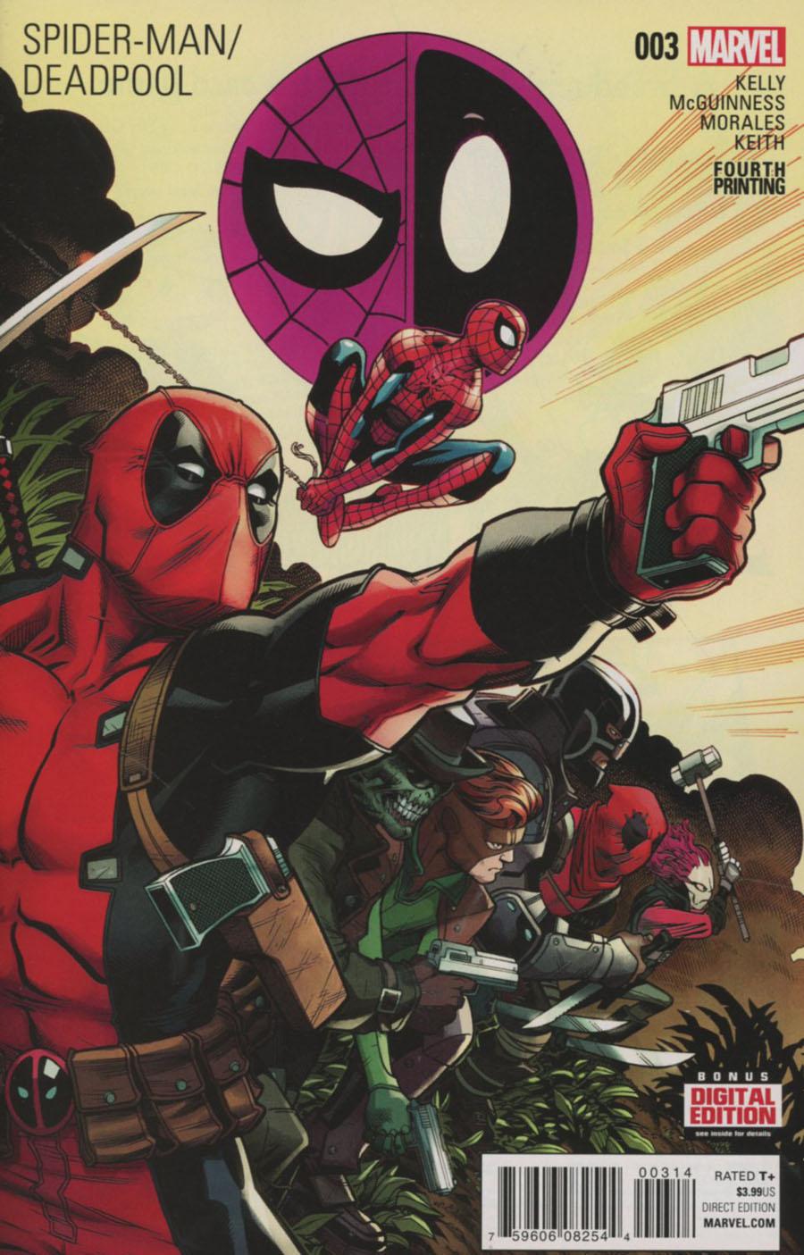 Spider-Man Deadpool #3 Cover E 4th Ptg Ed McGuinness Variant Cover