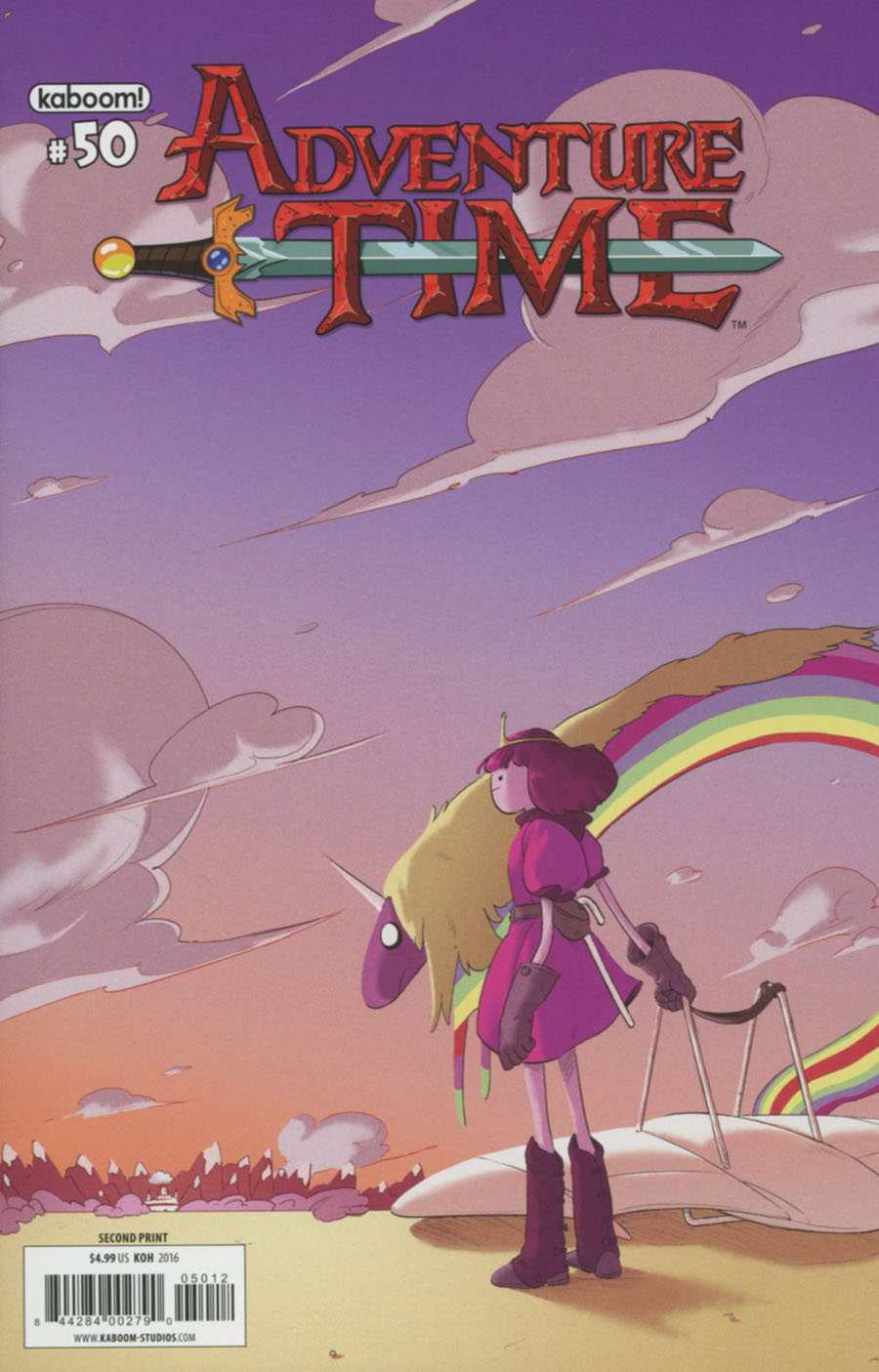 Adventure Time #50 Cover F 2nd Ptg Irene Koh Variant Cover