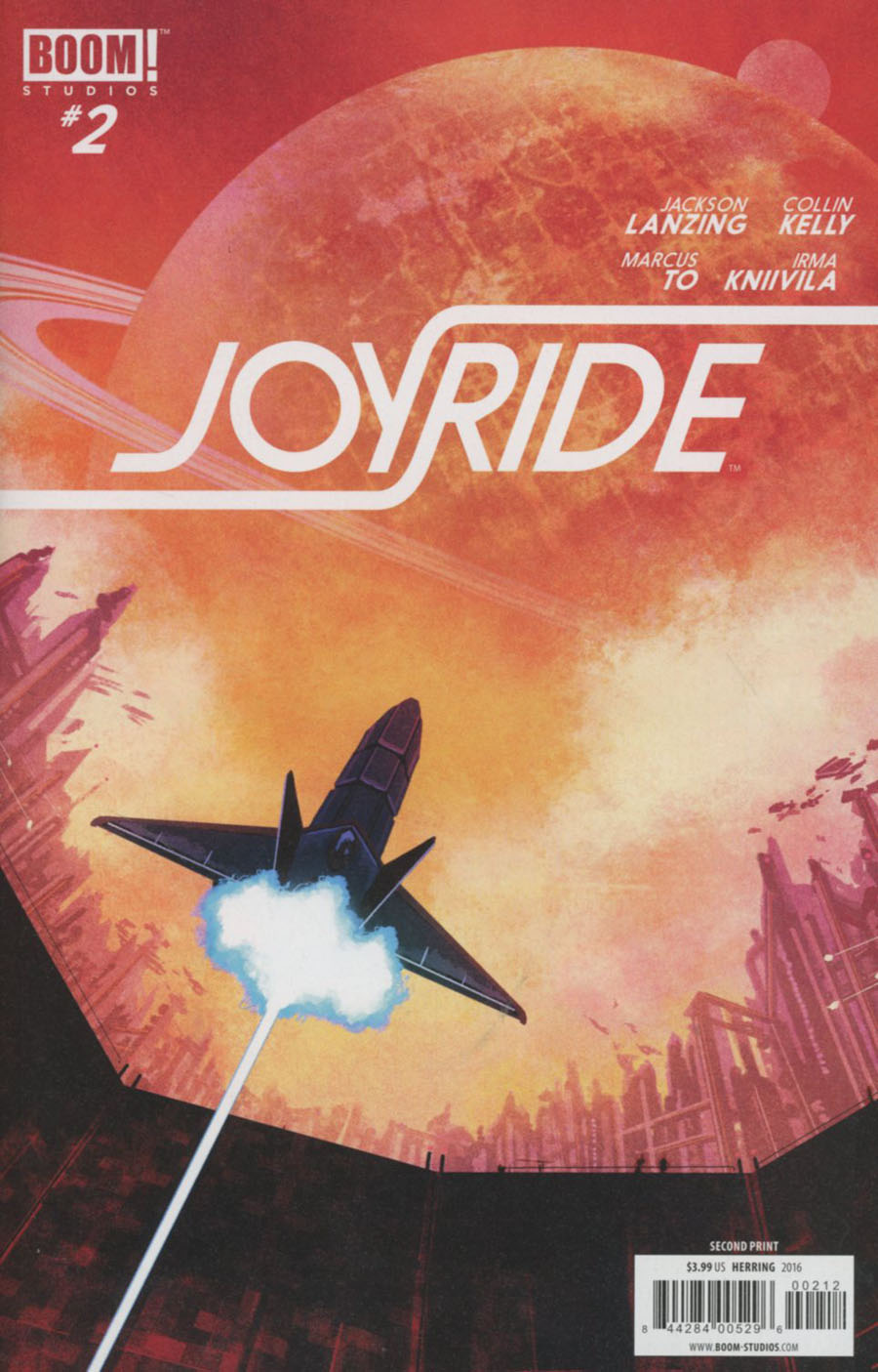 Joyride #2 Cover B 2nd Ptg Ian Herring Variant Cover