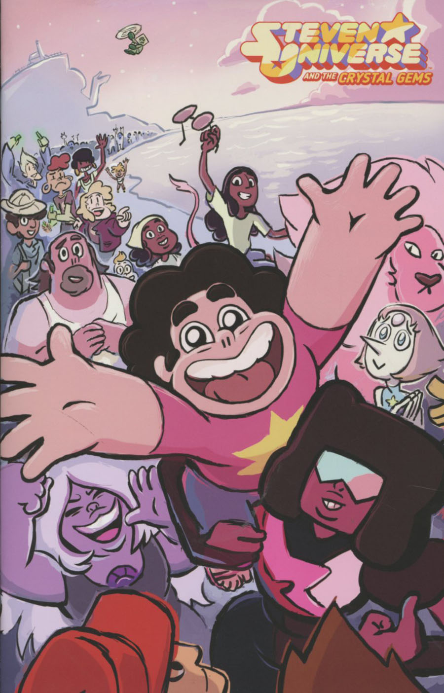 Steven Universe And The Crystal Gems #4 Cover C Incentive Raven Molisee Virgin Variant Cover